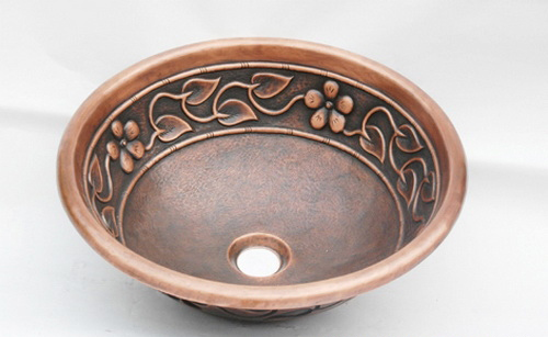 Copper Sinks AL015, China