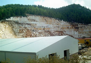 Wooden Black quarry