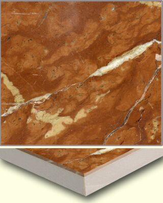 Marble Ceramic Composite Tile AL005, China