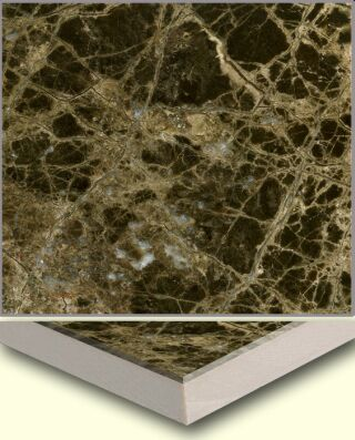 Marble Ceramic Composite Tile AL002, China