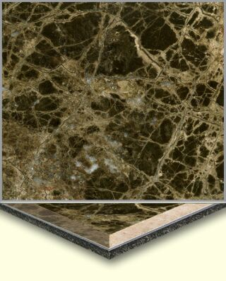 Marble Aluminum Composite Tiles AL006, China