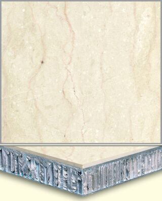 Marble Aluminum Honeycomb Composite Tiles AL006, China