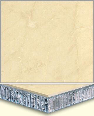 Marble Aluminum Honeycomb Composite Tiles AL003, China