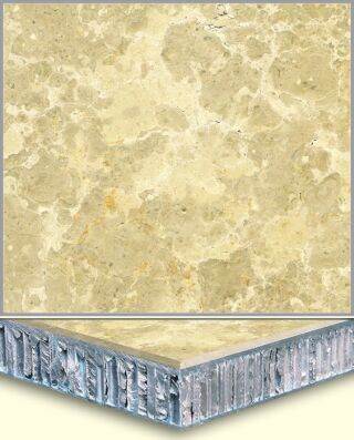 Marble Aluminum Honeycomb Composite Tiles AL004, China