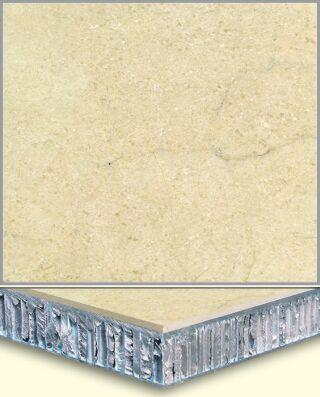 Marble Aluminum Honeycomb Composite Tiles AL005, China
