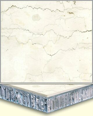 Marble Aluminum Honeycomb Composite Tiles AL007, China