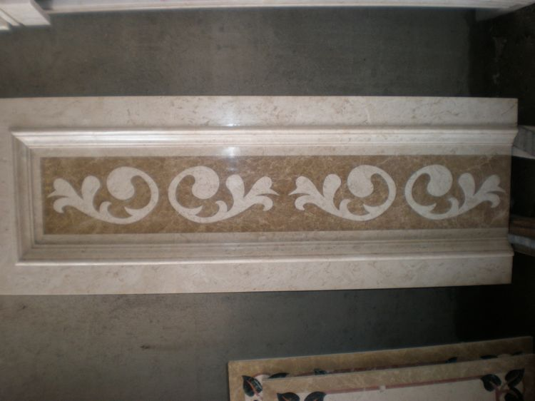 Water Jet Stone Medallions, China. ALSM067