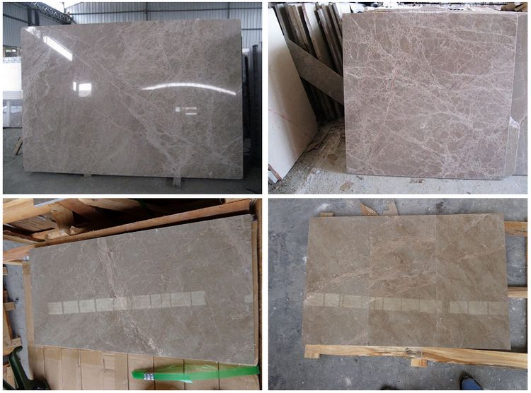 Chinese Marble Floor Tiles, China Light Emperador.