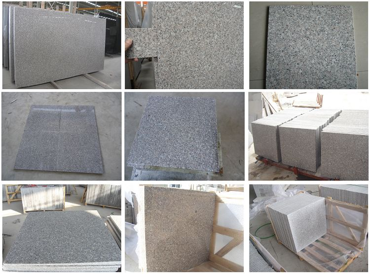 China Granite G636 Tiles, Polished, Flamed, Honed