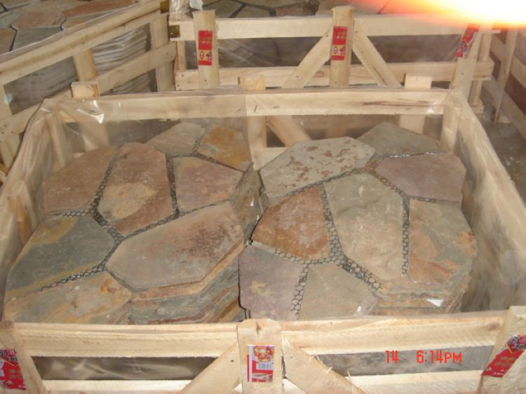 Chinese Slate Paving Stones, ALPS023