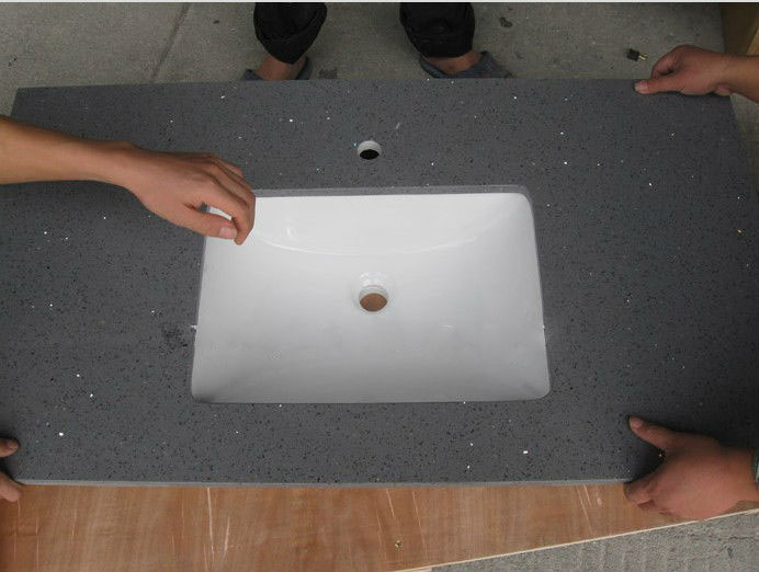 Quartz Stone Vanity Top, China. 048