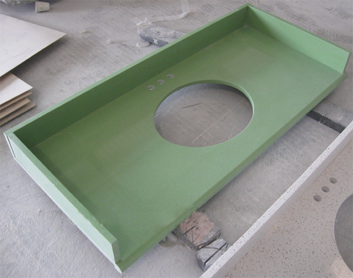 Artificial Stone Vanity Top, China. 055