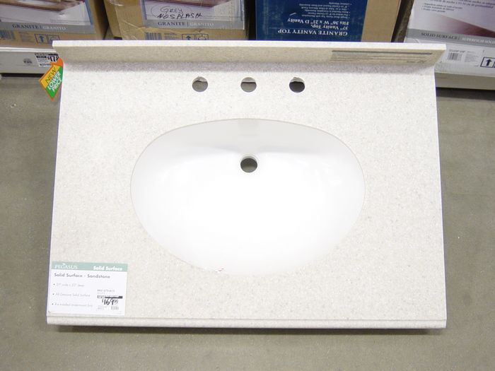 Solid Surface Vanity Tops, Countertops